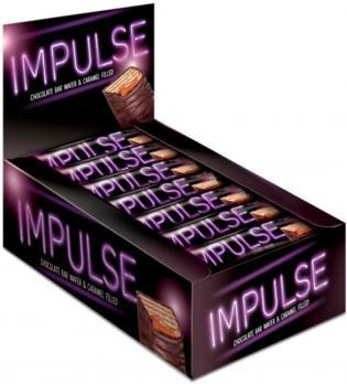 Батончик шоколадный Импульс, 16 гр. КДВ